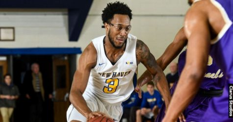 Men's Basketball Secures Big Road Win