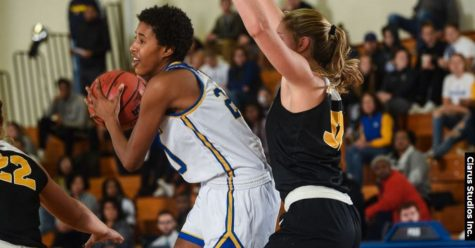 Women's Basketball Logs 16th Season Win