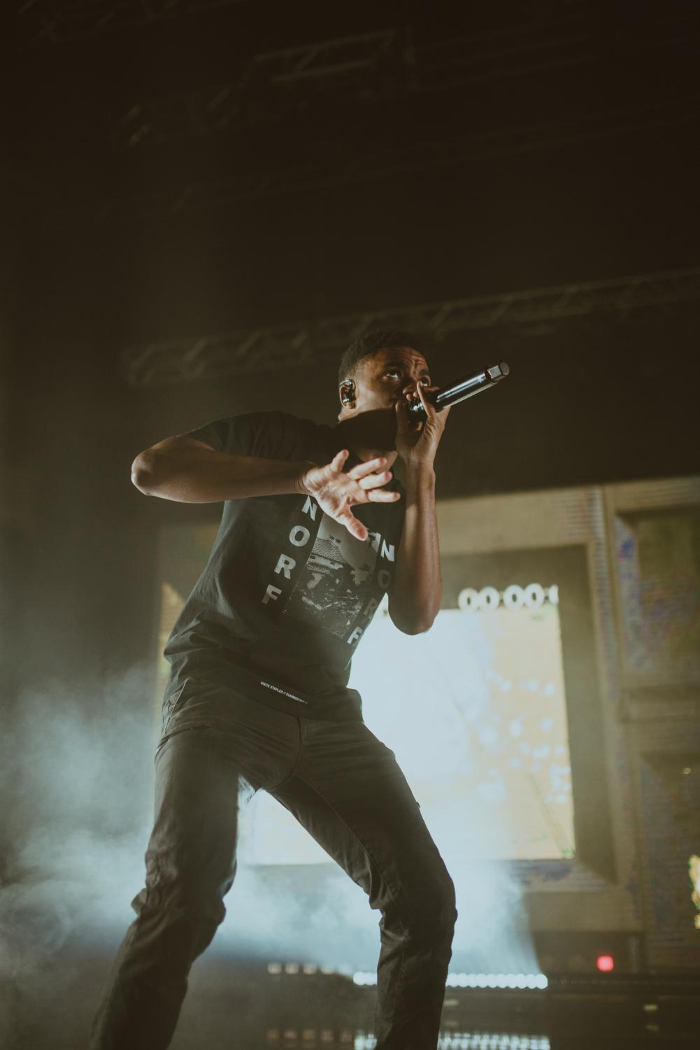 Vince Staples at College Street Music Hall.