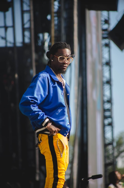 Offset performing at the Meadows music festival in 2017.