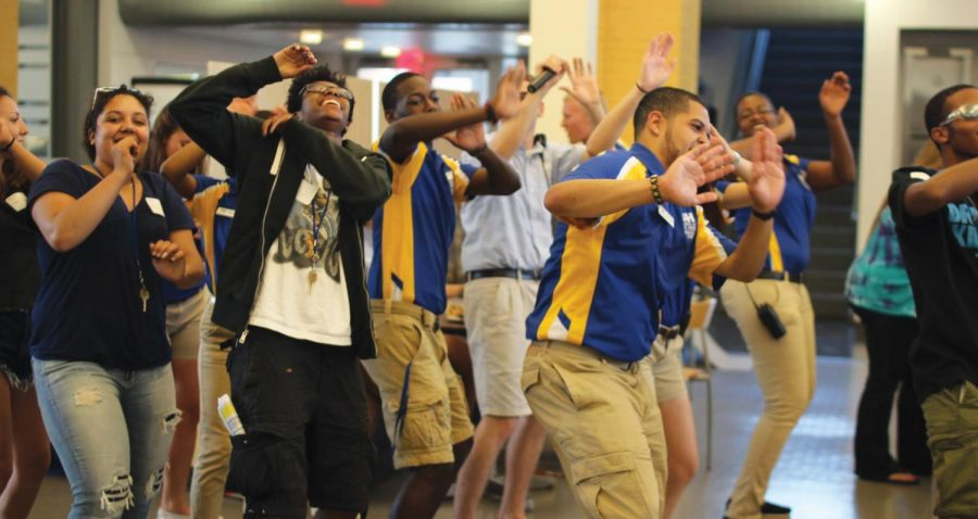 Orientation Leaders Build Foundation of Community