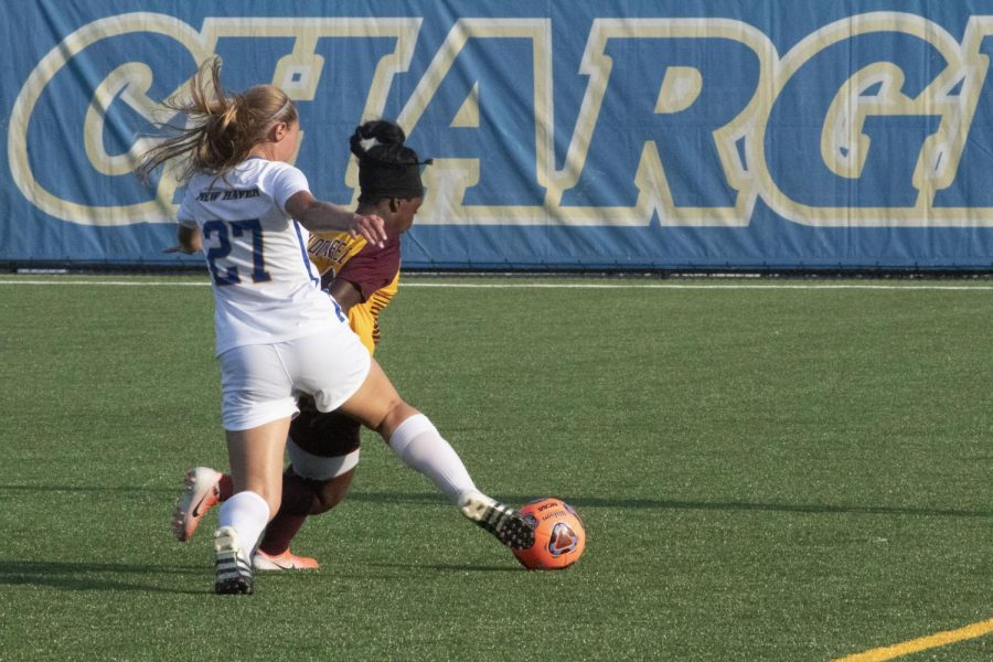 Women's Soccer Split Two Matches
