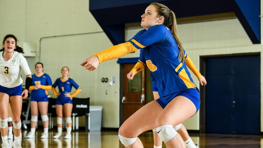 Volleyball vs Le Moyne College and Mercy College