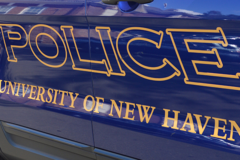University of New Haven Campus Police Squad Car