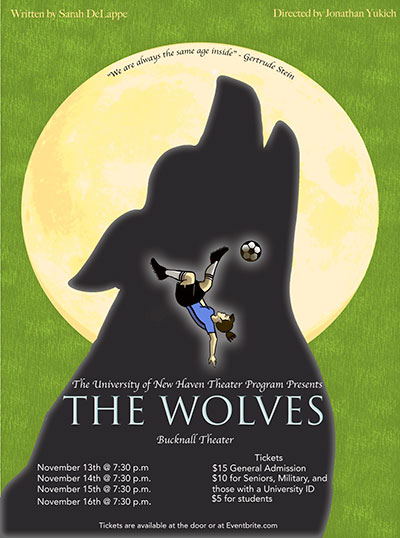 """Preview of Theatre Production """"The Wolves"""""""