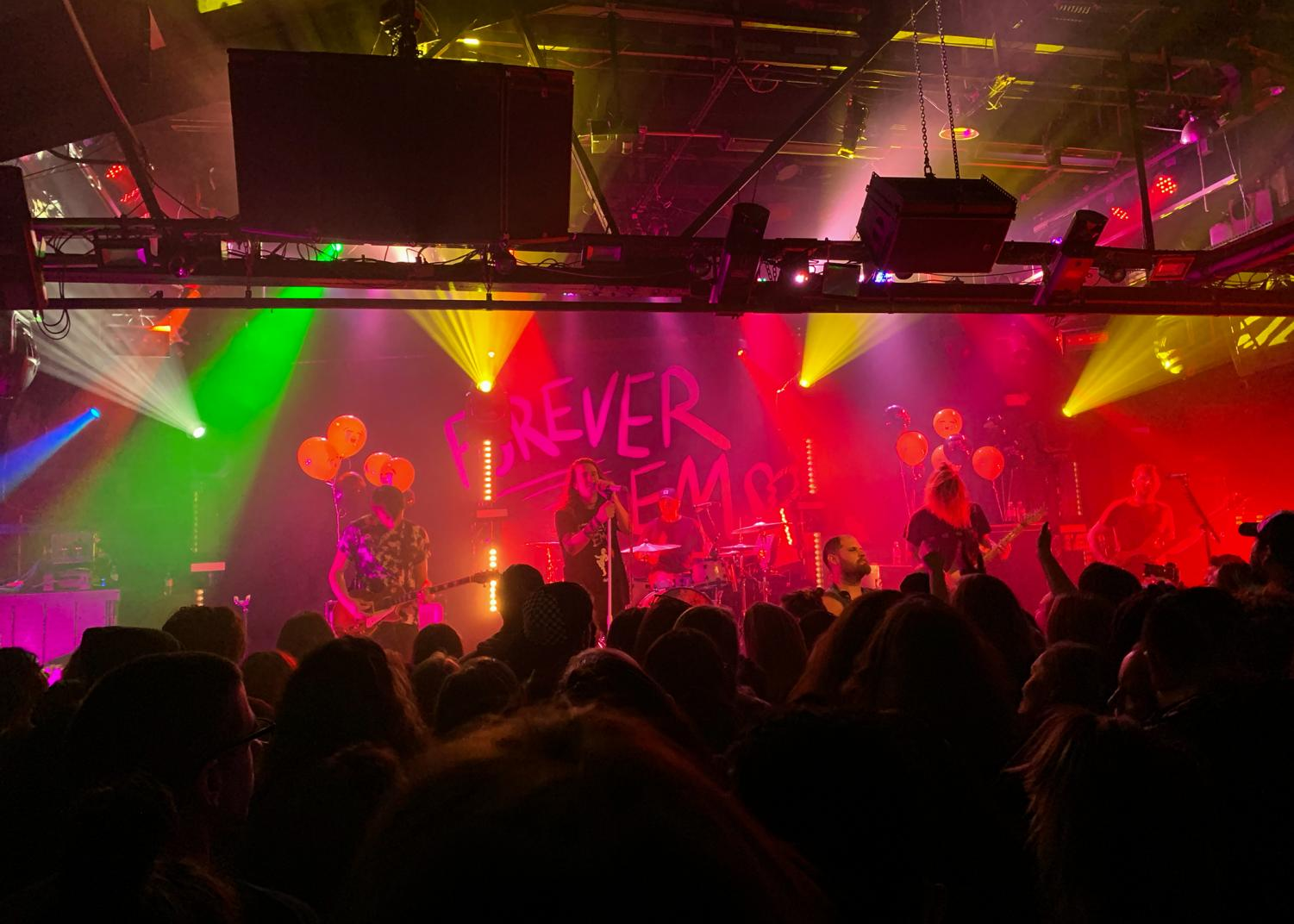 A look inside the Mayday Parade Concert at Toad's Place on Nov.11.
