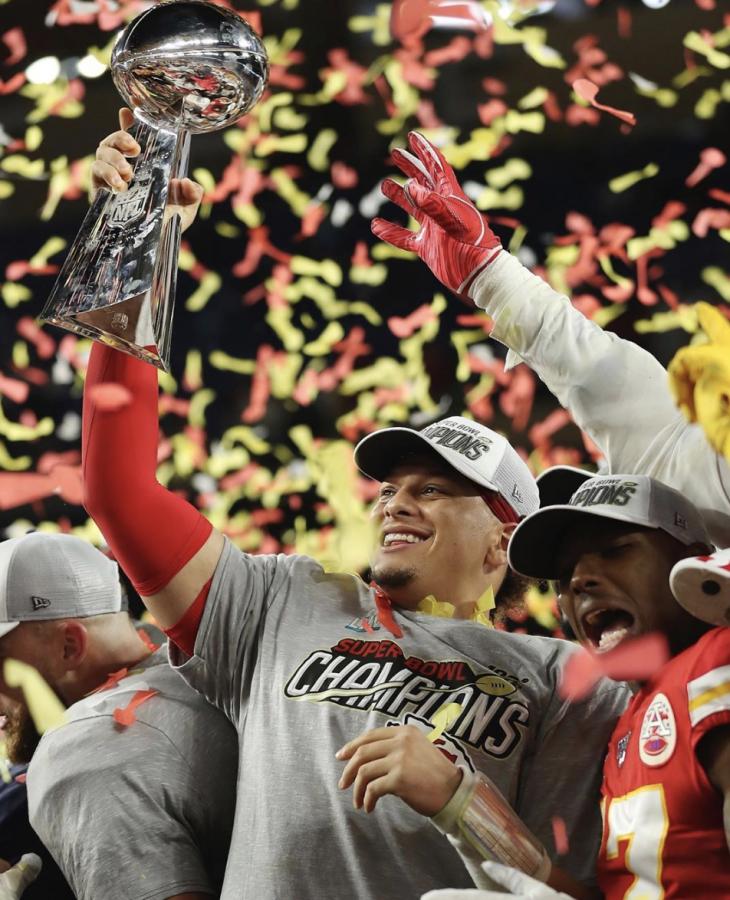 Super Bowl LIV MVP, Patrick Mahomes.