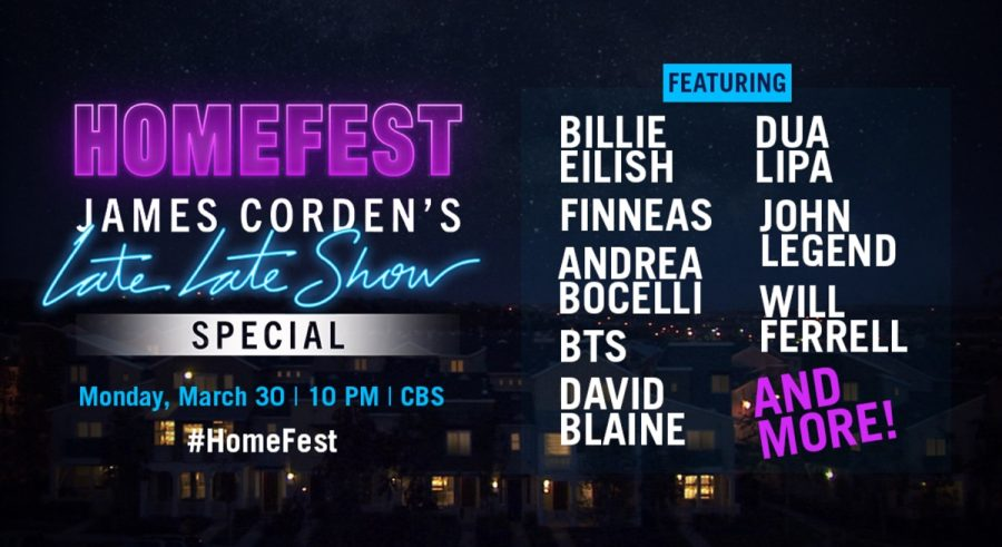 HOMEFEST%3A+James+Corden%E2%80%99s+Late+Late+Show+Special