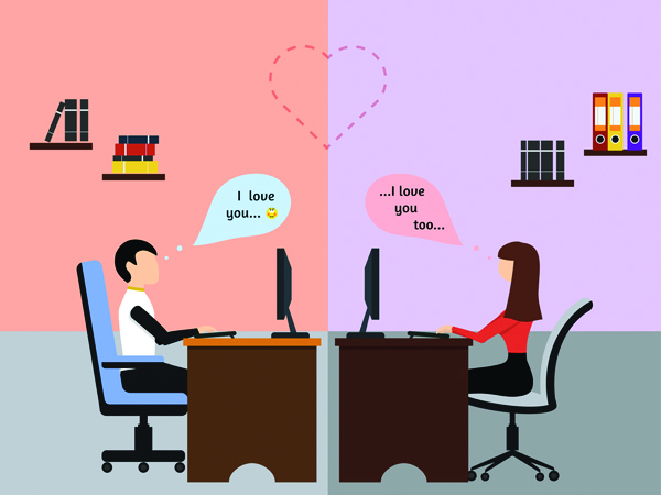 couples social distancing