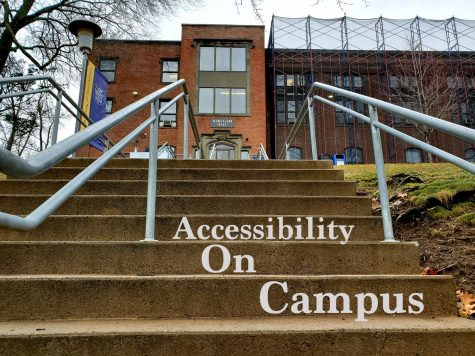 Student with Wheelchair Speaks Out About Campus Inaccessibility and Safety Issues