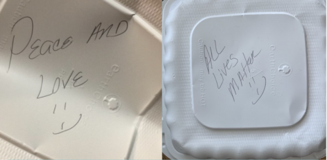 "Bartels Gives Student ""All Lives Matter"" To-Go Box"