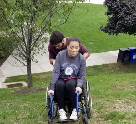 Accessibility issues prompt student with wheelchair to leave university