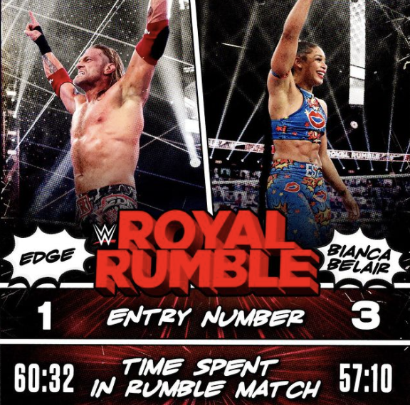 Countdown to WWE's WrestleMania begins after Sunday's Royal Rumble