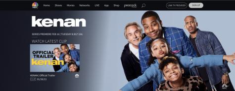 "Screenshot of ""Kenan"" on NBC website."