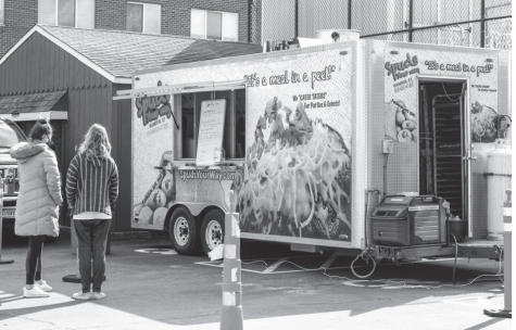 Food Trucks: The most popular dining service on campus