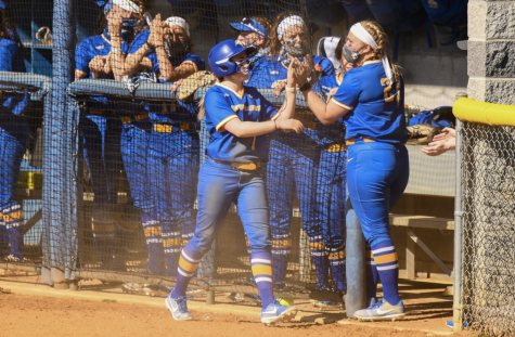 Chargers softball storms back with game two victory