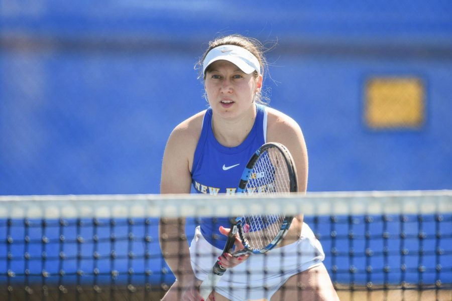 Tennis takes 4-3 thriller over Division I Providence College