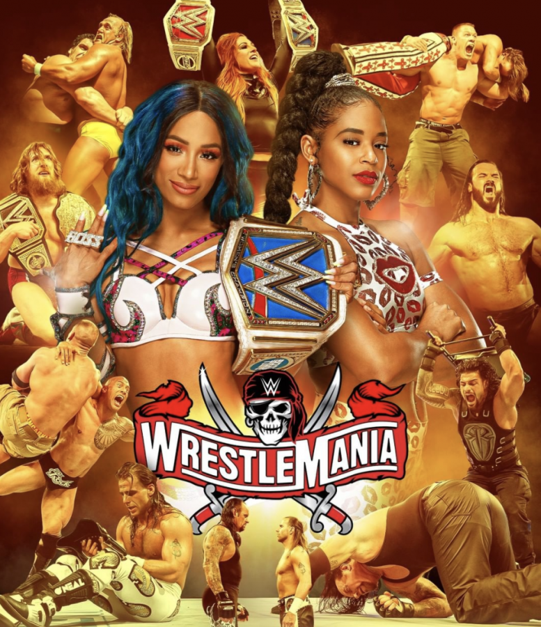 WWE+WrestleMania+37%3A+Two-Night+Match+Card+Event+Results