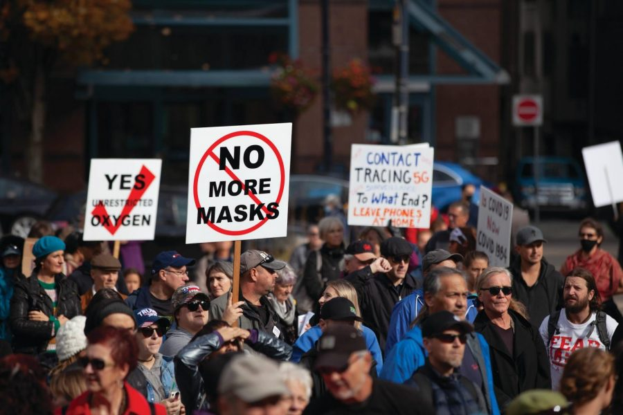 Anti-mask protests are on the rise following statewide COVID-19 regulations