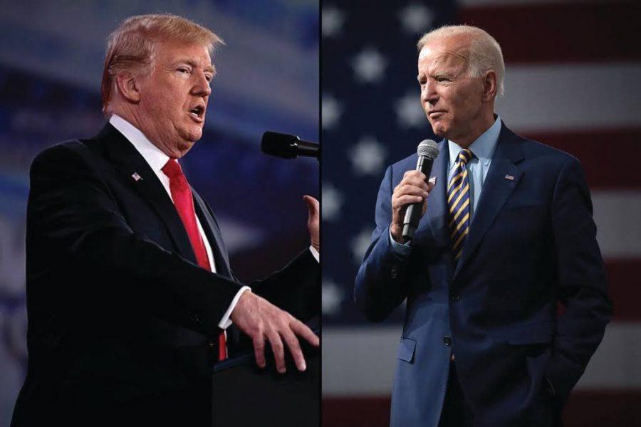 Donald J. Trump and President Joseph R. Biden.