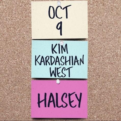 Halsey and Kim Kardashian announcement on SNLs Instagram